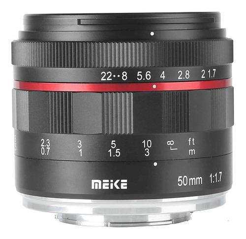Lente Meike 50mm F/1.7 Manual Sony E-mount