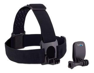 Gopro Head Strap + Quickclip Go Pro Correa Cabeza Original