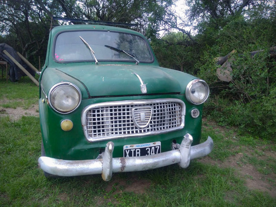 Fiat 1100 Mod. 1961 Ideal Para Coleccionar - Restaurar