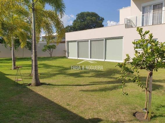 Mansão Em Condomínio Com 3 Suítes Com Closet À Venda, 406 M² Por R$ 3.200.000 - Cidade Jardim - Rio Claro/sp - Ca0539