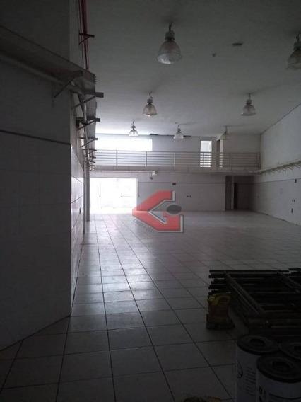 Galpão Para Alugar, 600 M² Por R$ 10.000/mês - Centro - São Bernardo Do Campo/sp - Ga0131