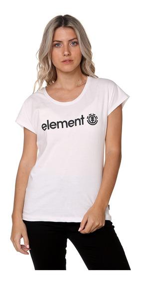 Remera Element Logo Tee Jeremele10 Mujer Jeremele10