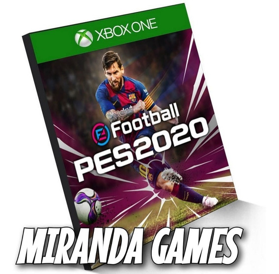 Pes 2020 Pro Evolution Soccer 20 Xbox One Digital Português