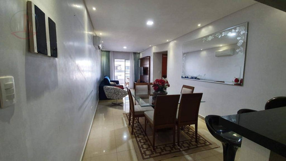Apartamento Com 2 Dormitórios À Venda, 100 M² Por R$ 450.000,00 - Tupi - Praia Grande/sp - Ap1184