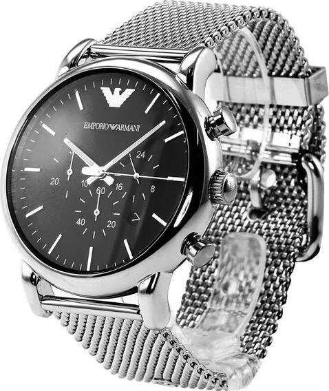 Reloj Hombre Caballero Ea Nuevo Y Original Ar1808