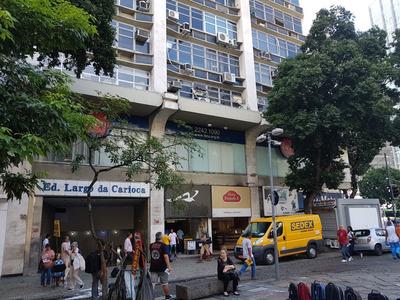 Sala Comercial Na Frente Do Metro Da Est.carioca