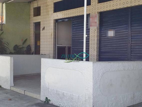 Loja Frente De Rua, Salão, Banheiro E Boa Área Frontal. - Lo0023