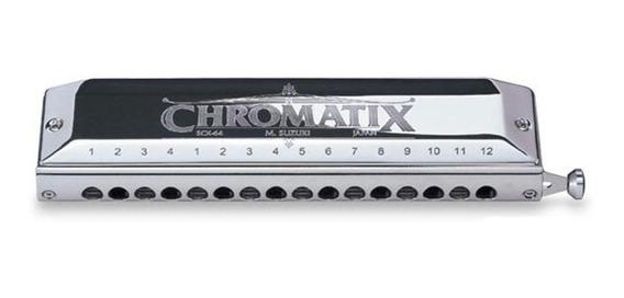 Armonica Susuki Harmonica Chromatix Tono C Hm4