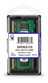 Memória Kingston Notebook Ddr3l 8gb 1.35v Low Voltage