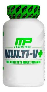 Multi V + Multivitamínico Musclepharm - Mp Para Atletas 60 Cap