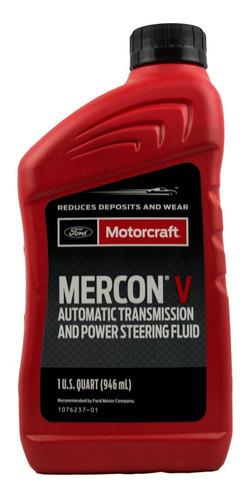 Imagen 1 de 3 de Aceite Caja Automática Atf Mercon V Ford Motorcraft 946 Ml