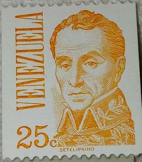 Estampillas De Coleccion Venezolana 25cts, 1, 2 Setelipaino