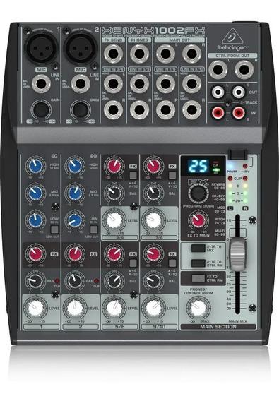 Mesa De Som Mixer Behringer Xenyx 1002fx - 110v