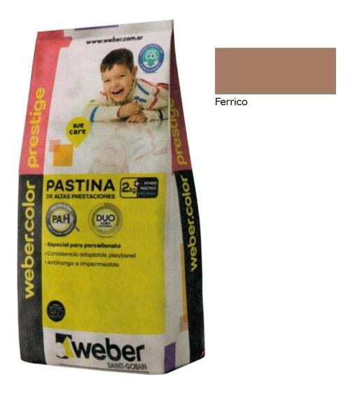 Weber Color Pastina Prestige Férrico 2kg