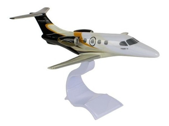 Maquete - Embraer Phenom 100 - Laranja