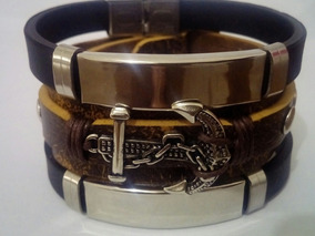 Pulseira Masculina Feminina Ajustável Bracelete