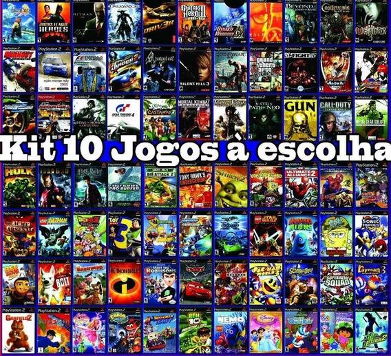 10 Jogos Patch Ps2 - Frete Gratis Todo Brasil