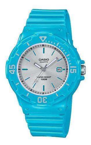 Reloj Casio Para Mujer Lrw200h-2e3v Estilo Buceo Color