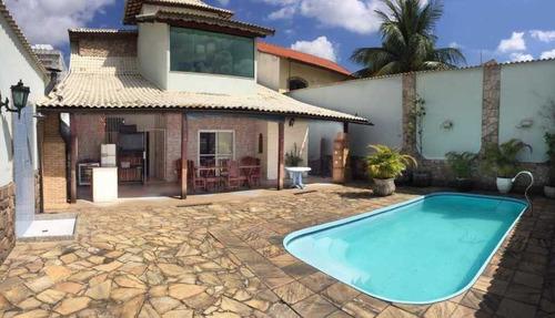 Ótima  Casa No Centro De Nova Iguaçu Com 4 Quartos. - Pmca40008