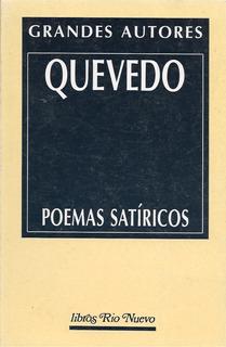 Poemas Satíricos (poesía) / Quevedo