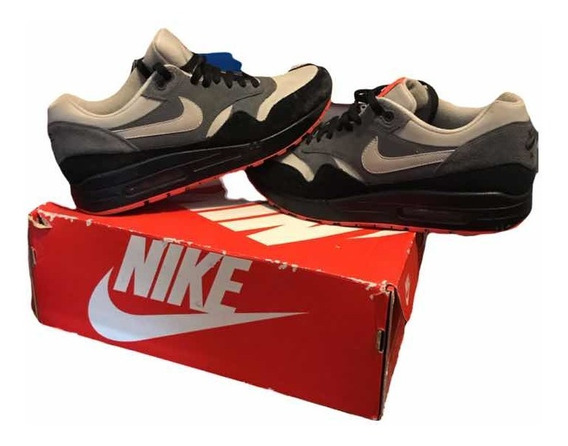 Zapatillas Nike Air Max 1 Gris Negro