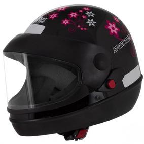 Capacete Automático Sm Sport Protork Feminino Sport Moto