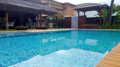 Casa Com 5 Dormitórios Para Alugar, 430 M² Por R$ 8.000/mês - Acapulco - Guarujá/sp - Ca0504