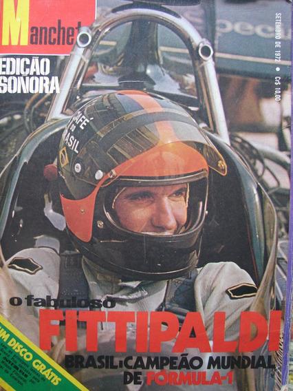 Edição Sonora Manchete - Emerson Fittipaldi Campeão De 1972