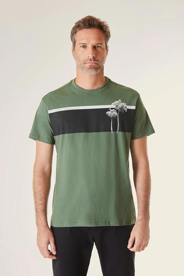 Camiseta Estampada Pf Ilha Faixa Vj Reserva