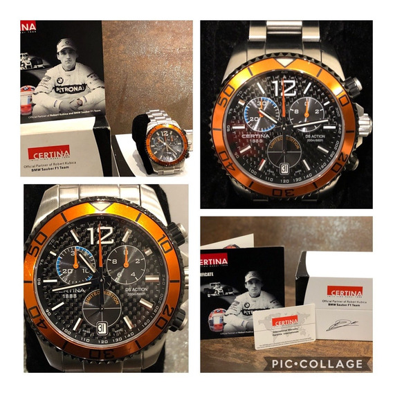 Certina Ds Action Chrono - Robert Kubica Limited Edition