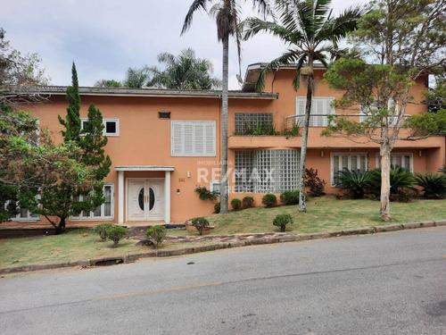 Magnífica Casa Para Alugar Com 1650m² Com 5 Quartos Por R$12.000 No Condomínio Marambaia-vinhedo/sp. - Ca7509