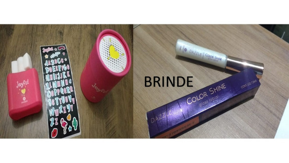 Kit Presente Garotas Perfume Joyful + Brinde Gloss Labial