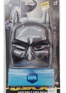 Kit Máscara E Capa Batman Rosita 9508