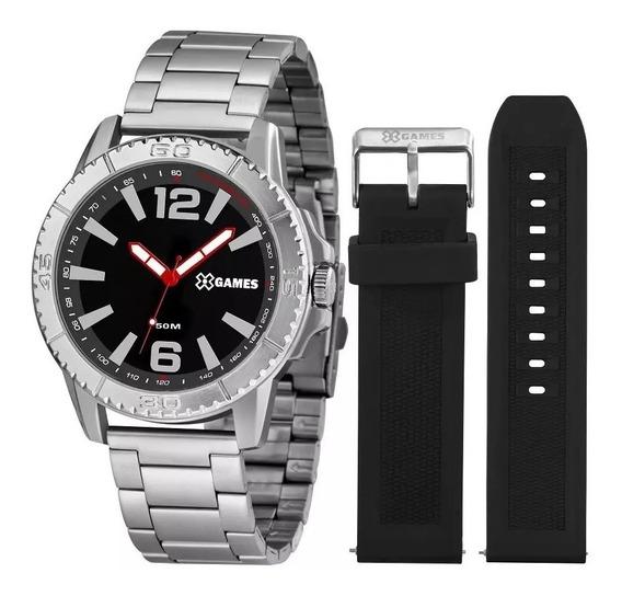 Relógio X-games Masculino Xmls0001 P2sx ( Troca Pulseira )