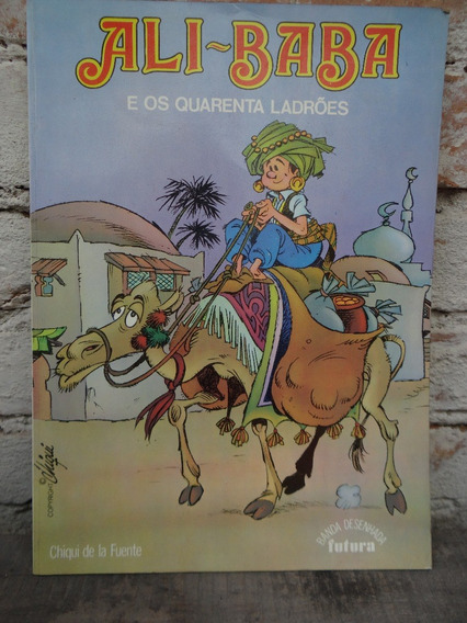 Hq Ali-baba E Os 40 Ladrões Ed. Futura Lisboa