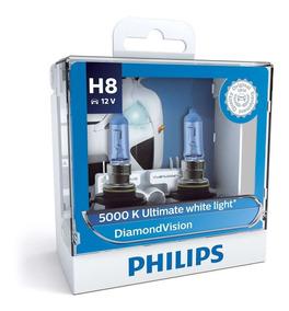 ( Veja Original ) Philips Diamond Vision 5000k H8 Garantia