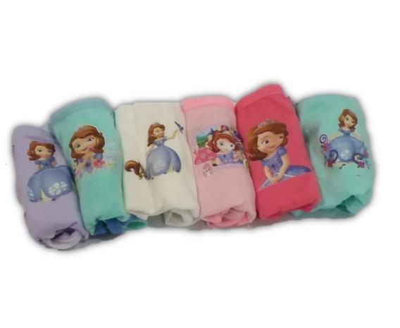 Pantaletas, Pantys Para Niñas Paquete 6 Unidades