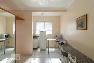 Flat Em Rede De Hotel - Térreo Mobiliado Com 1 Dormitório - Id: 892928321 - 228321