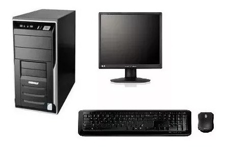 Cpu Completa Core 2 Duo / 4gb / Hd 320 / Monitor 15
