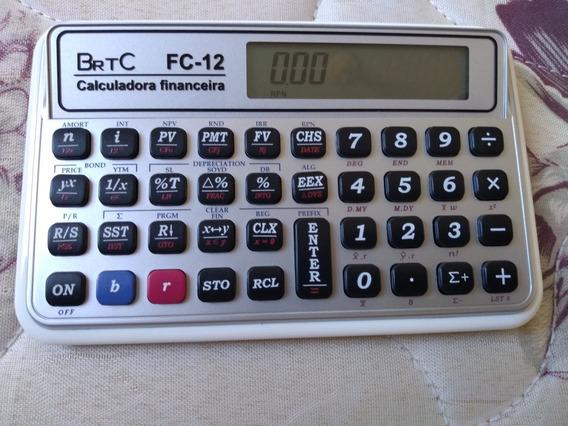 Calculadora Financeira Brtc Fc-12