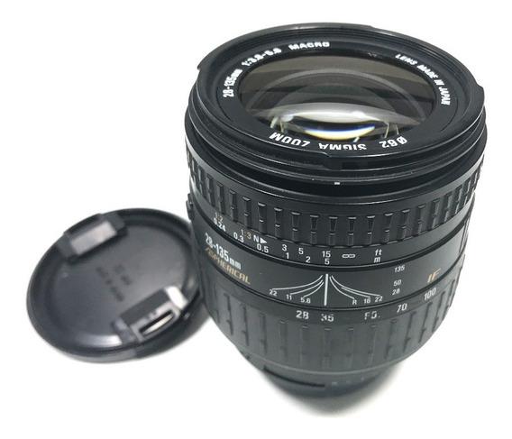 Lente Sigma Af 28-135mm Macro Full Frame P/ Nikon