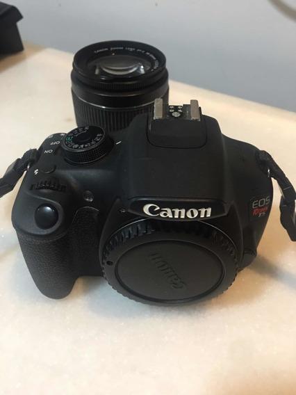 Câmera Canon T5i + Todos Os Acessórios.