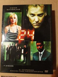 Serie 24 Temporada 3 Ed Coleccionistas Dvd Original 7 Discos