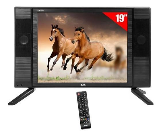 Tv Digital 12v 19 Pol 12 Volts Usb Para Moto Home Confira!!