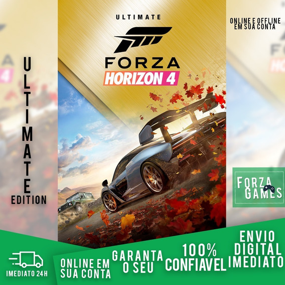 Forza Horizon 4 Ultimate Edition Original Pc Mídia Digital