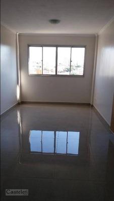 Apartamento Com 3 Dormitórios À Venda, 85 M² Por R$ 490.000 - Jardim Proença - Campinas/sp - Ap6831