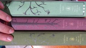 Livros Senhor Dos Anéis + Hobbit Em Inglês Capa Dura