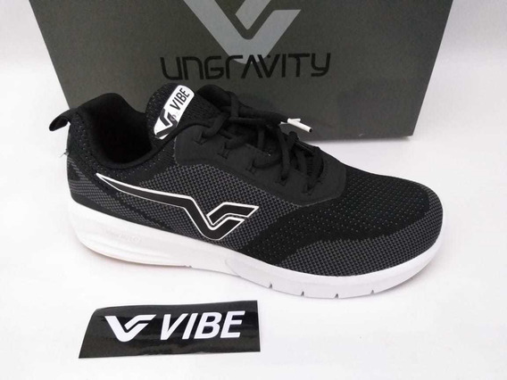 Tênis Vibe Shoes Prolific Preto Branco Sneaker Original