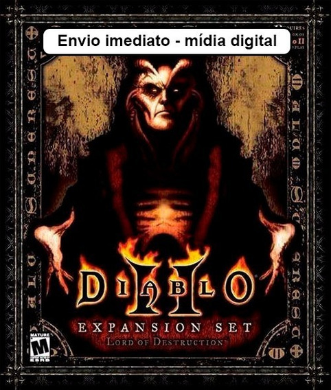 Diablo 2 + Expansão Lord Of Destruction - Mídia Digital