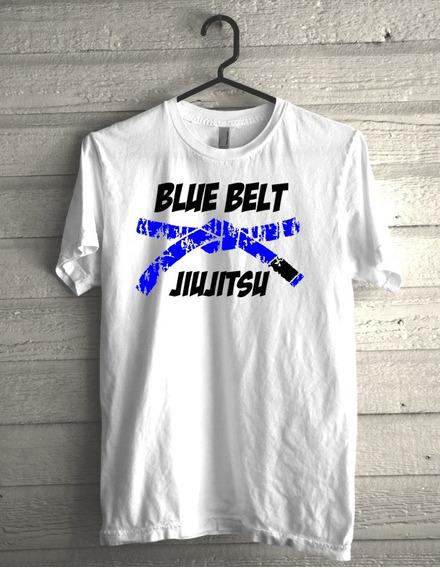 Camiseta Blue Belt Jiujitsu